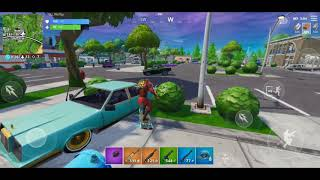 Fortnite Mobile Gameplay/10 kill Game victory royale