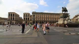 Italy. Milan. Италия, Милан. Соборная площадь