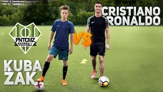 Cristiano Ronaldo VS polski piłkarz amator!   PNTCMZ