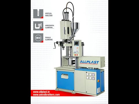 Vertical Locking Injection Moulding Machine
