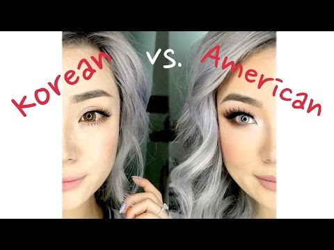 Korean vs American Makeup | Suhrealmakeup