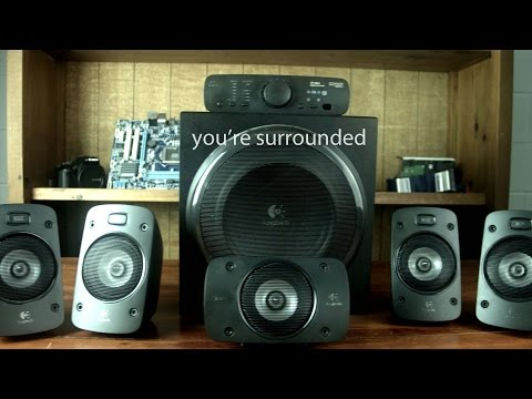 Logitech Z906 5.1 Surround Speaker System Review