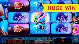 HUGE WIN! Green Thumb Slot - ALL BONUS FEATURES!