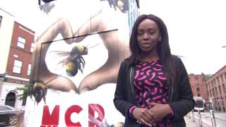 Manchester Bee Tattoo- Dolline Mukui's report for ITV Granada