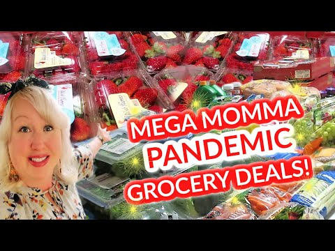 NEW Once-a-Month LARGE FAMILY GROCERY HAUL during PANDEMIC for Feeding a Large Family on a Budget!