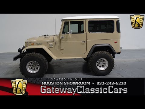 Video of '74 Land Cruiser FJ - M5JW