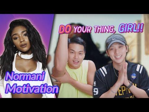 K-pop Artist Reaction] Normani - Motivation
