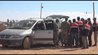 yumurtalık sınır noktasında araçlar geçmeye başladı  30 09 2014  şanliurfa