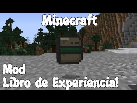Minecraft 1.11.2 MOD EL LIBRO DE EXPERIENCIA! XP Book Mod Español!