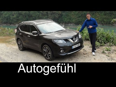 2015/2016 Nissan Rogue X-Trail test drive review offroad Himalayas special #xtrail