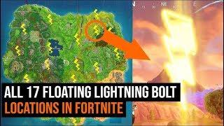 All 17 lightning bolt Locations in Fortnite - Season 5 Challenges