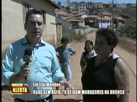 Ruas sem asfalto deixam moradores na bronca em Elói Mendes