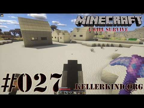 Minecraft: I will survive #027 - Ein Tempel und ein Dorf ★ Let's Play Minecraft [HD|60FPS]
