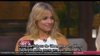 Dianna Agron Sendo Entrevistada No Good Day LA (legendado)
