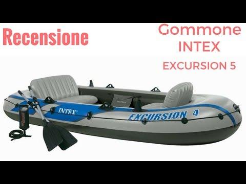 CANOTTO INTEX EXCURSION 5 (RECENSIONE)