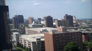 preview picture of video 'A view of Syracuse, NY with Downtown, Midtown, and University Hill'