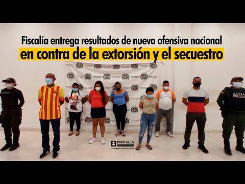 Fiscal Francisco Barbosa: Ofensiva nacional en contra de la extorsión y el secuestro en Colombia