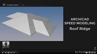 How to model a Roof Ridge