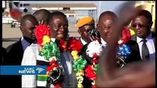 New presidents Ramaphosa, Mnangangwa strengthen bilateral ties