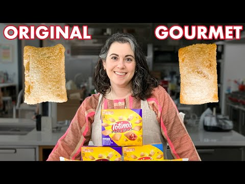 Pastry Chef Attempts to Make Gourmet Pizza Rolls   Bon Appétit