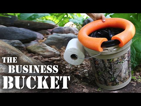 Learn How To Make The Perfect All-In-One Camping Toilet With This Video