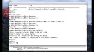 How to Attach Database in SQLite