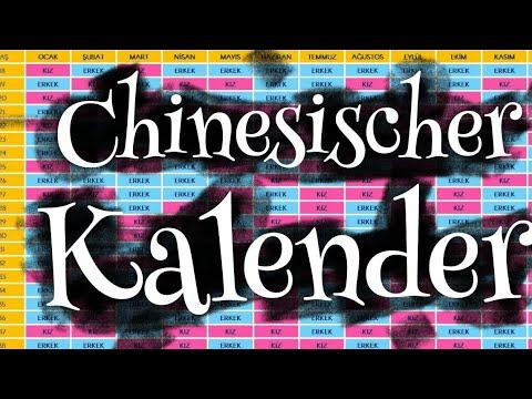 ~ Chinesischer Kalender ~ Lerne das Geschlecht des Babys