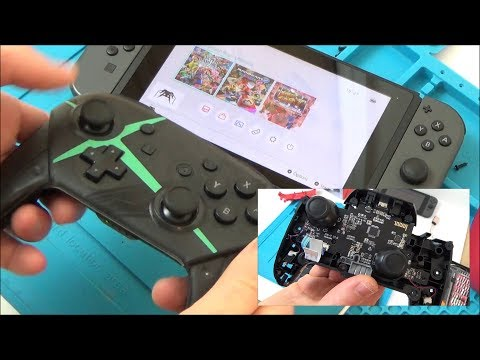 Trying fo FIX a FAKE £17 Nintendo Switch Pro Controller