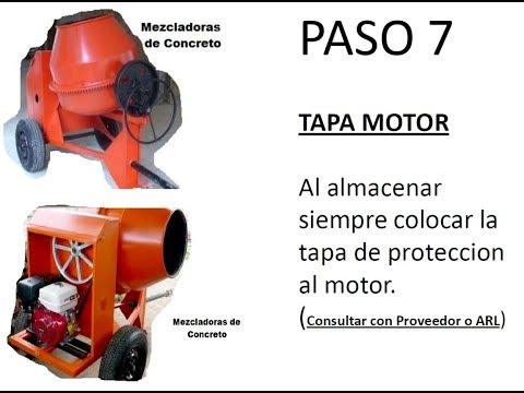 Mezcladoras de concreto y su uso seguro Colombia