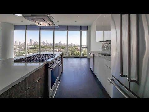 An -02 3-bedroom penthouse at the full-amenity Elevate Lincoln Park