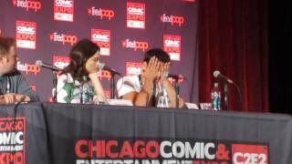 Tyler et Crystal parlent des fan art