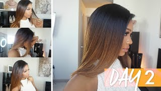 #HAIRWEEK DAY 2: The Perfect Ombre Bob | OZOWIGS