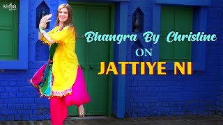 Bhangra By Christine - Jattiye Ni | Dance Cover | Jordan Sandhu Punjabi Song