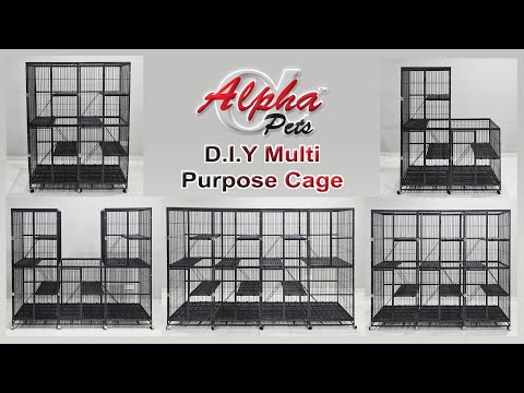 D.I.Y Cat Cage(DIY2IN1)