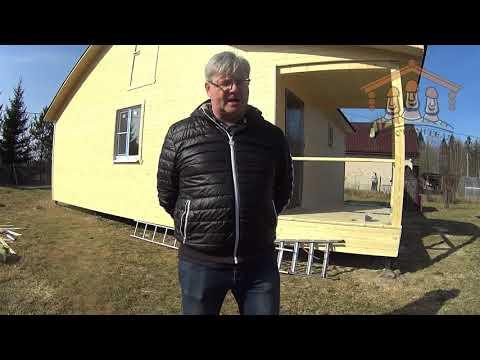 Андронова Е.А. - видеоотзыв о строительстве