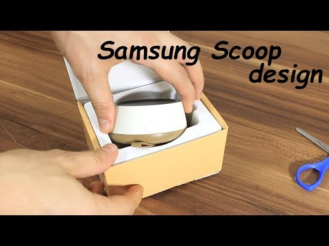 Samsung Scoop unboxing, hook up + dB test at 1 m