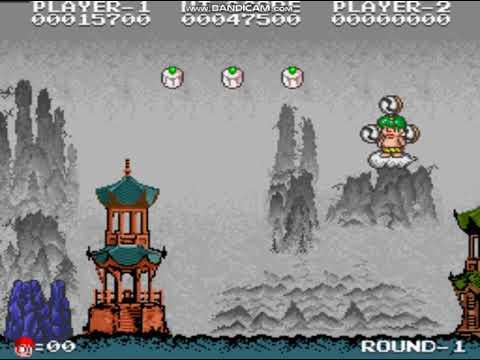 [이폭간] 중화대선 원코인 도전 Cloud Master Taito 1988