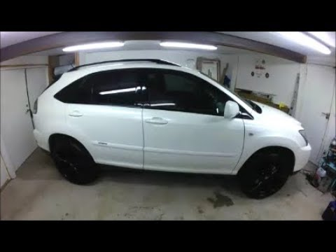 "Fitting 22"" wheels Lexus RX 400H and how to tint your front windows!"