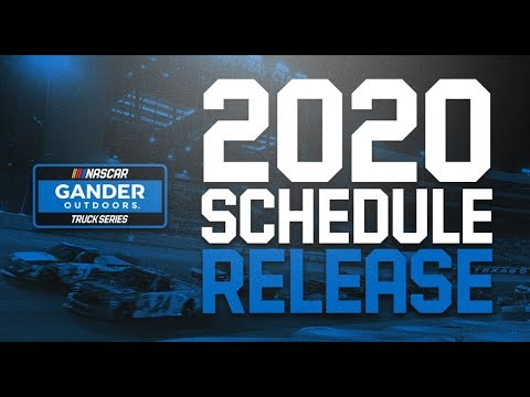 Gander Trucks 2020 schedule released