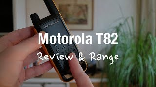 Motorola Talkabout T82 Extreme - 2 Way Radio (Review and Range Test)