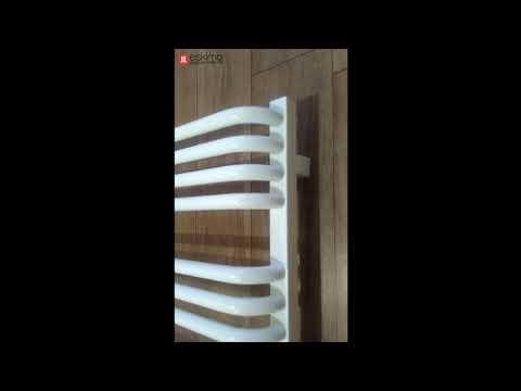 Дизайнерский полотенцесушитель Terma Alex. Краткий видео обзор.