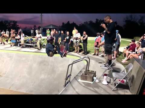 SK8 Charleston SK8 Luau Best Trick over the Ladder sponsored by Parrot Surf and Skate