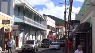 preview picture of video 'Charlotte Amalie, St. Thomas, USVI - Downtown HD (2015)'