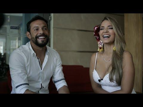 Melissa Martinez y el futbolista Matias Mier hablan sobre su relacion