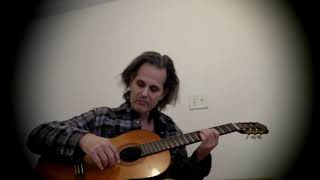 THE BEATLES BLACK DOG BLUES WRONG YO YO EASY ACOUSTIC GUITAR LESSON