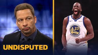 Chris Broussard reacts to Draymond Green's suspension after altercation with KD | NBA | UNDISPUTED