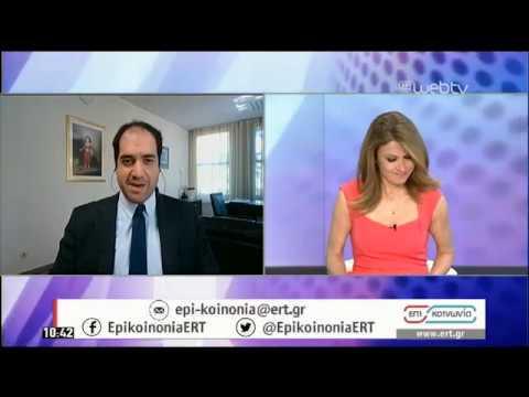 Ο Υφυπουργός Μεταφορών και Υποδομών Γ.Κεφαλογιάννης στην ΕΡΤ | 13/05/2020 | ΕΡΤ