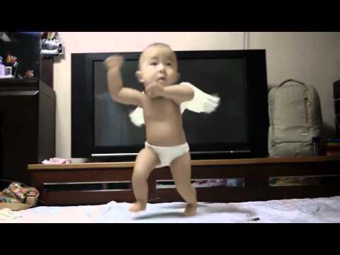 Angel baby nhảy gangnam style siêu cu-te