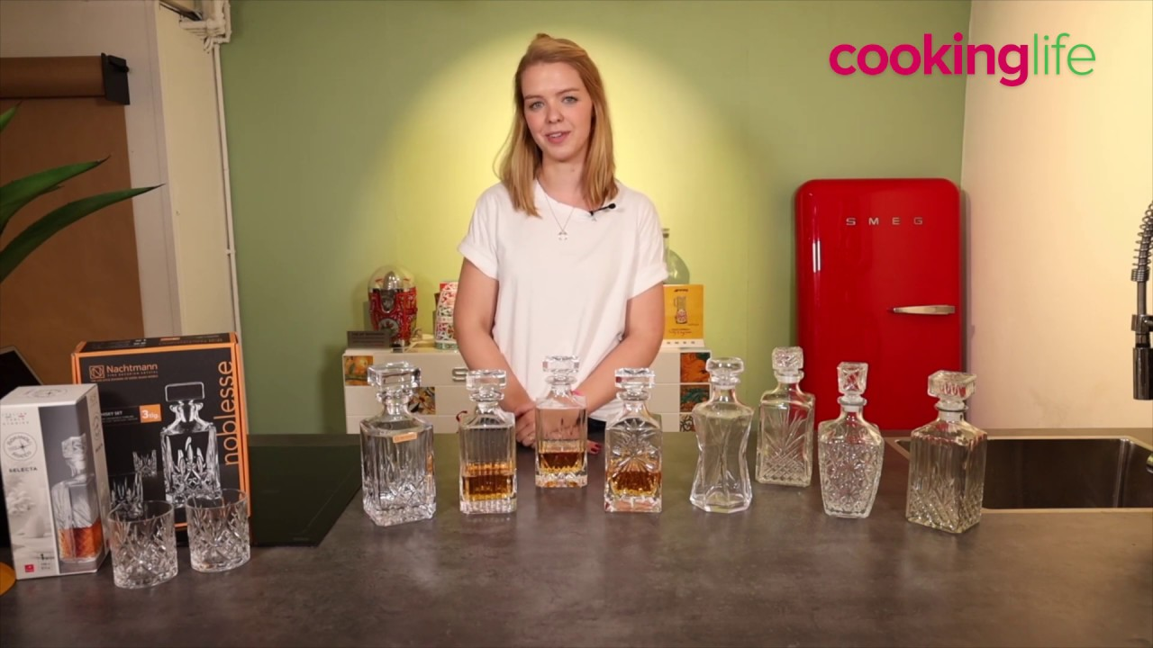 Video - Jay Hill Whisky Karaffe Moy 0,85 Liter