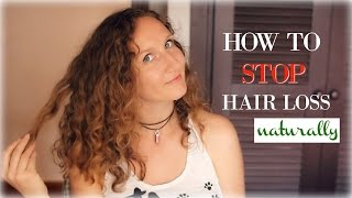 How To Stop Hair Loss Naturally
